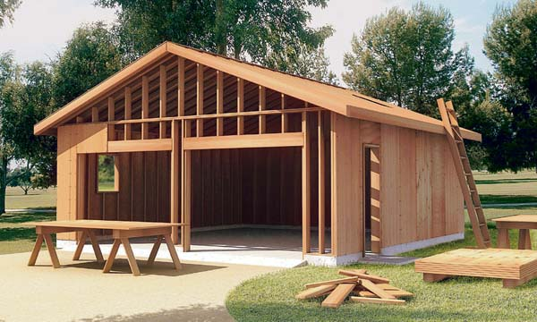 Estimate the cost to build a garage for Building detached garage cost